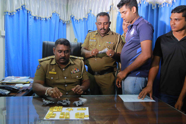 Man arrested with gold worth over Rs 40 mn