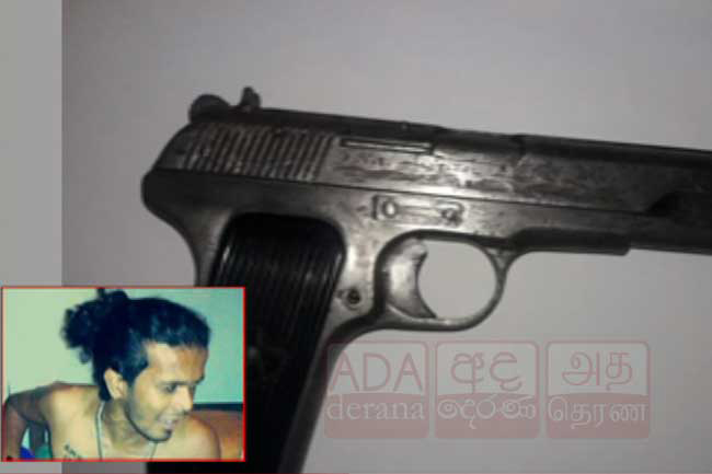 Firearm used by 'Podi Lassie' recovered from Hikkaduwa