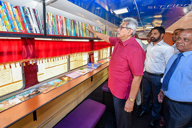 Mobile libraries donated to rural schools, coinciding with Children's Day