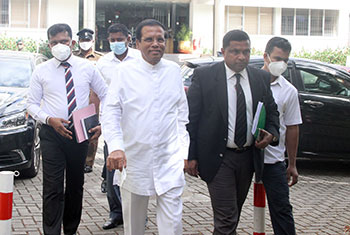 Maithri at PCoI...