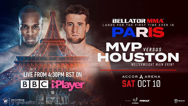 Bellator brings MMA into mainstream with BBC deal, Paris fight card