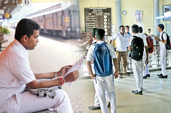 Special train arrangements for A/L & Scholarship exam candidates