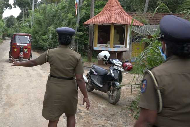 Travel restrictions for 05 areas in Kegalle District