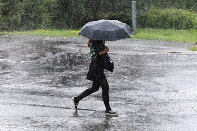 Afternoon thundershowers expected in four districts