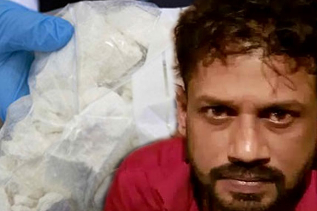10kg of heroin seized after tip-off by 'Makandure Madush'