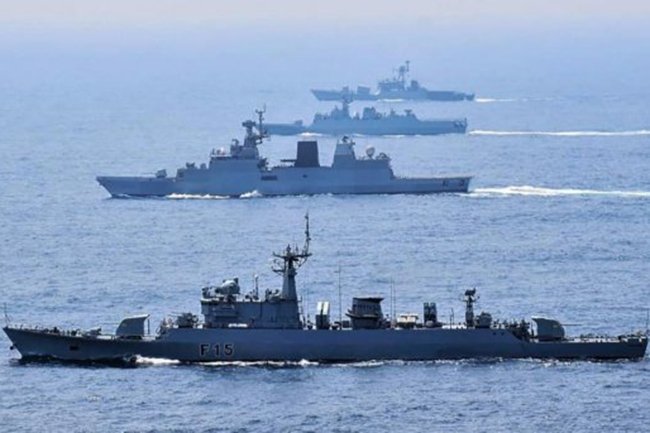 Sri Lankan, Indian navies to carry out military drill to enhance inter-operability