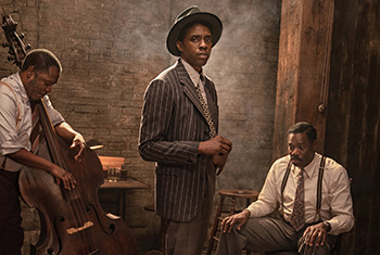 Netflix previews 'Ma Rainey' and Boseman's final performance