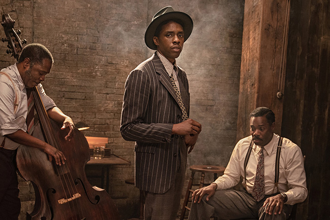 Netflix previews 'Ma Rainey' and Boseman's final performance