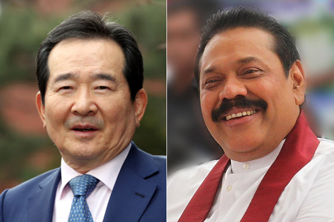Korean PM and PM Rajapaksa discusses education, investment and tourism in phone call