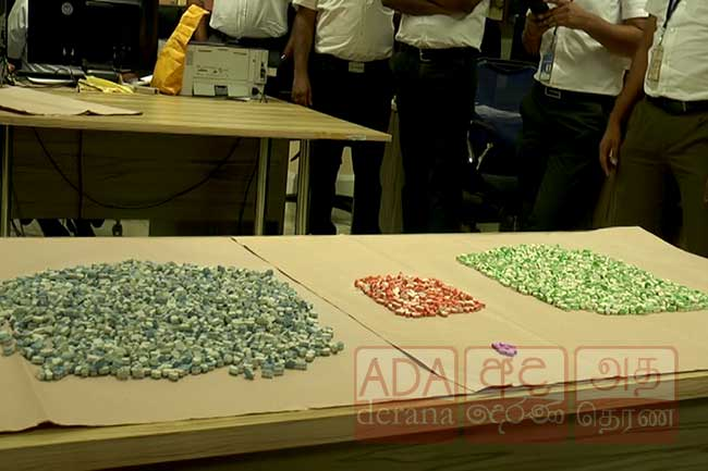 Over 4,000 ecstasy pills sent as a gift from France