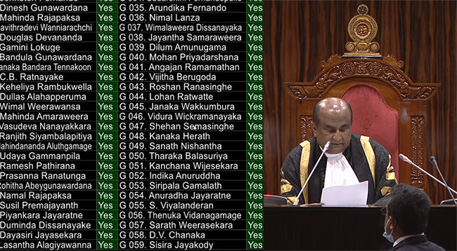 Second Reading of 20A passed with two-thirds majority