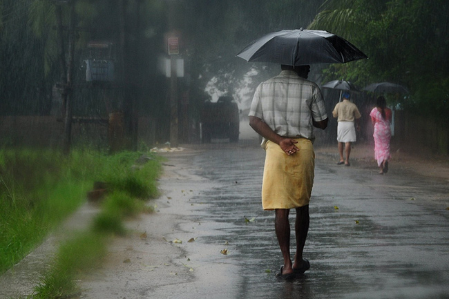 Met. Dept. forecasts showers in parts of the island