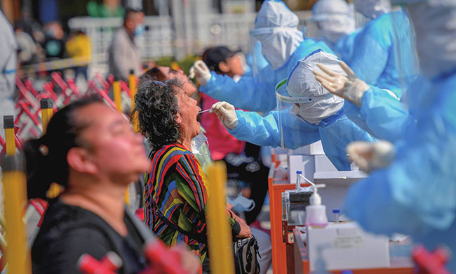 China's Xinjiang conducts mass testing for 4.7 million people after asymptomatic case reported