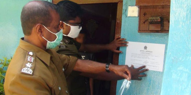 First contacts of COVID-19 patients to be home-quarantined