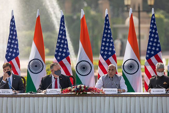 India gets access to US military satellites with new defence pact