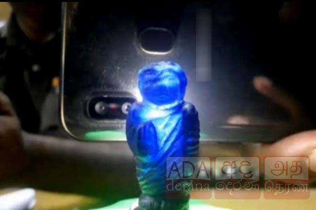 Five arrested over attempt to sell blue sapphire Buddha statue