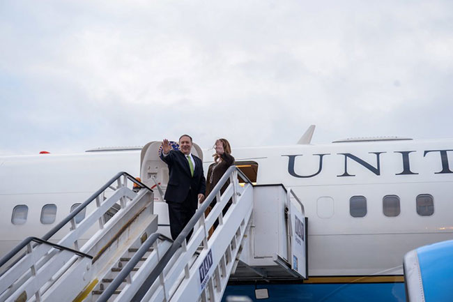 Pompeo concludes Sri Lanka visit, leaves for Maldives