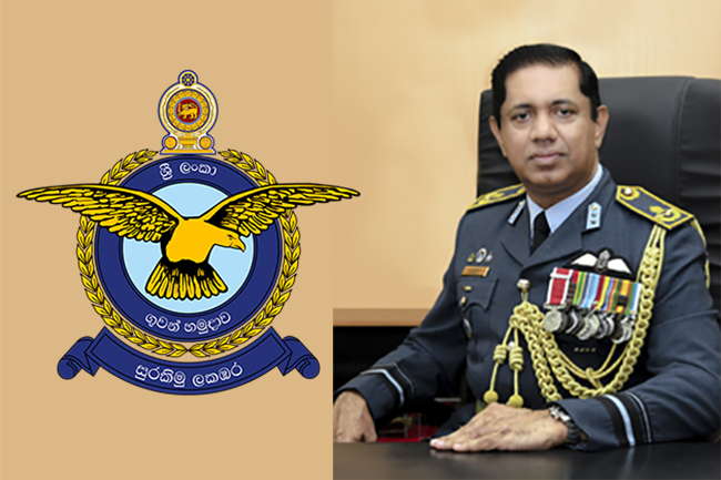 AVM Sudarshana Pathirana appointed new Air Force Commander