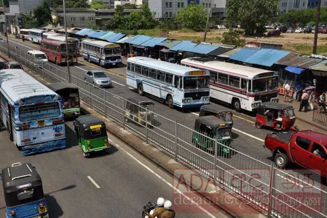 Passenger bus services entering and exiting Western Province suspended