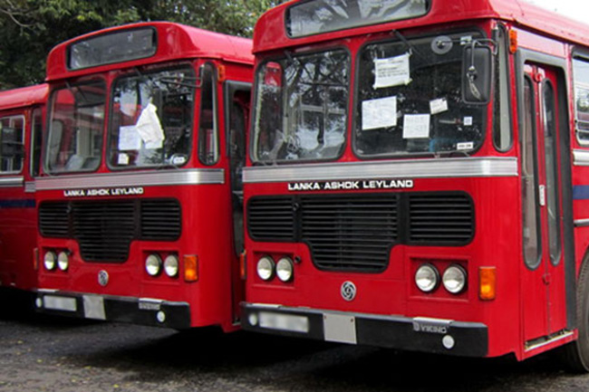 All SLTB buses in operation this weekend