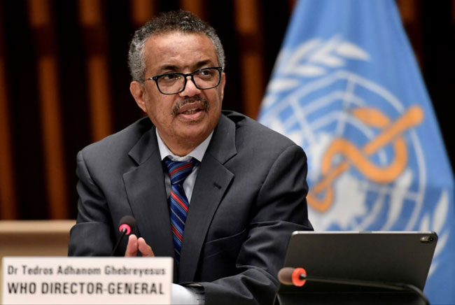 WHO Chief calls for equal access to COVID-19 vaccines