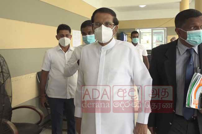 Maithripala accused of attempting to shift blame at PCoI