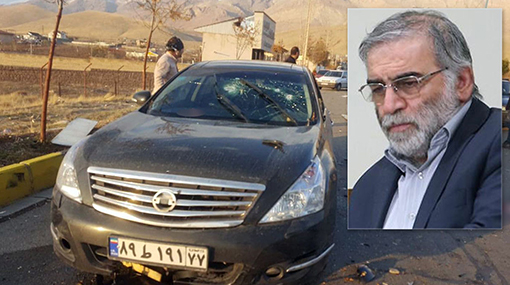 "Iran's top nuclear scientist ""assassinated"", state media says"