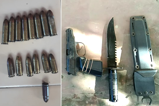 Major underworld figure arrested with weapons & ammo