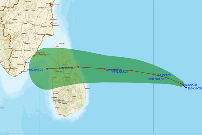 Depression over south-east Bay of Bengal to intensify into cyclonic storm