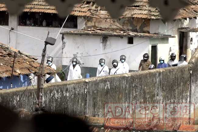 Committee inquiring Mahara Prison riot records evidence