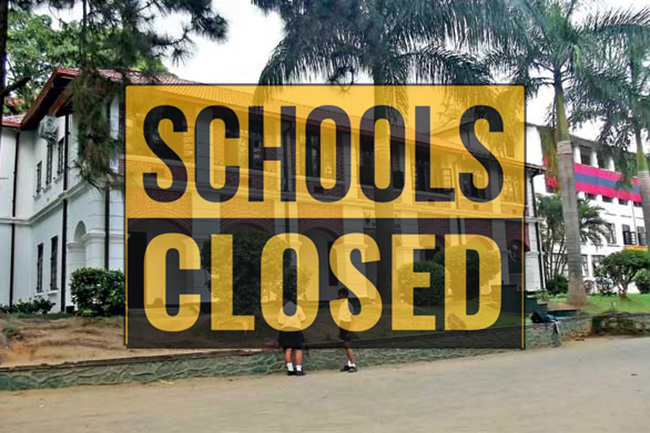 Schools in Kandy city closed for another week