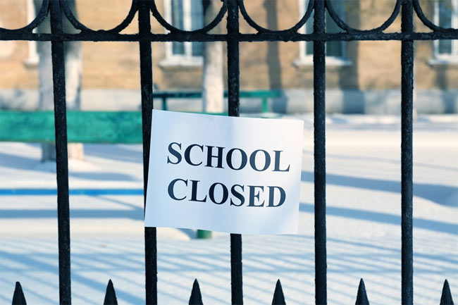 Schools in Galle Education Division closed for three days