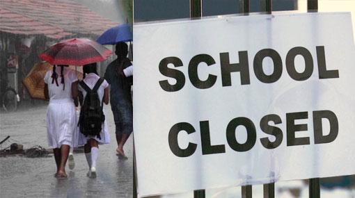 Schools closed in Jaffna and Kilinochchi districts tomorrow