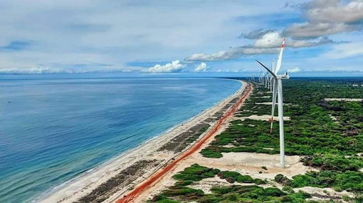 Sri Lanka's largest wind power plant joins national grid