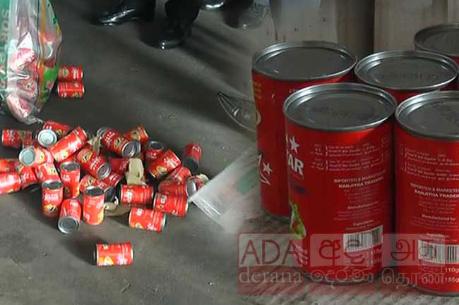 Sri Lanka re-exports containers of sub-standard canned fish back to China