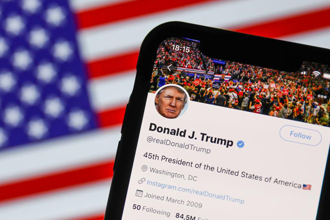 Twitter & Facebook temporarily lock Donald Trump's accounts