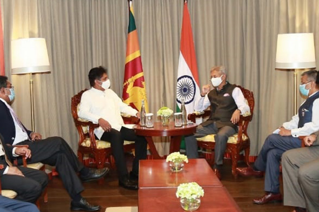 Opposition Leader meets with Indian External Affairs Minister