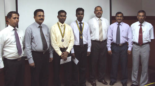 'CTA Schaffter Award' honours top scholars in Insurance & Valuation at Wayamba University