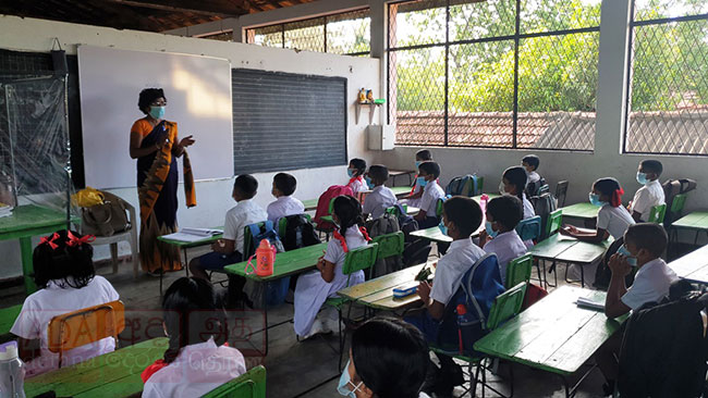 55% overall student attendance recorded as schools reopen in Sri Lanka