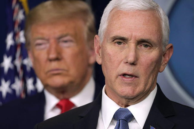 Mike Pence rejects invoking 25th Amendment to remove Trump from office