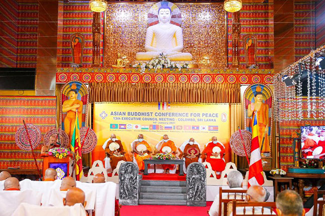 Asian Buddhist Conference for Peace convenes under President's patronage