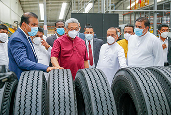 South and South-East Asia's largest tyre manufacturing facility...