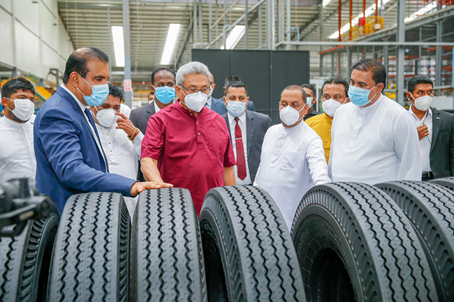 South Asia's largest tyre manufacturing factory declared open