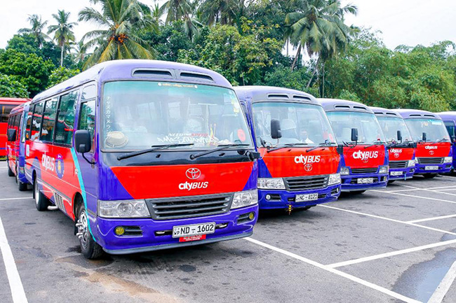 Park & Ride city bus service launched to ease traffic congestion in Colombo
