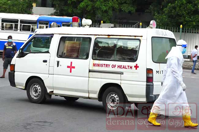 Escaped Covid-19 patient found from Eheliyagoda