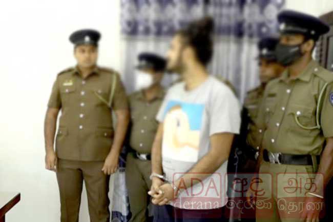 'Barrel Sanka' arrested