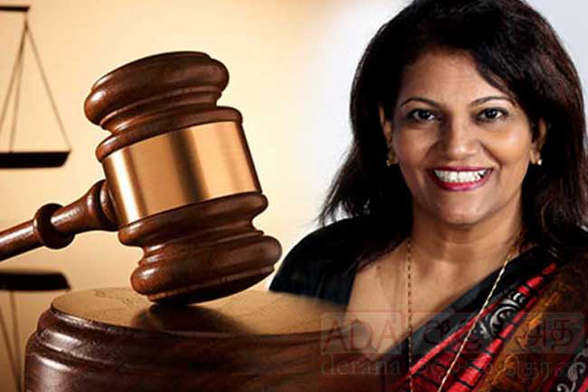 Court rejects Deepa Edirisinghe's anticipatory bail application
