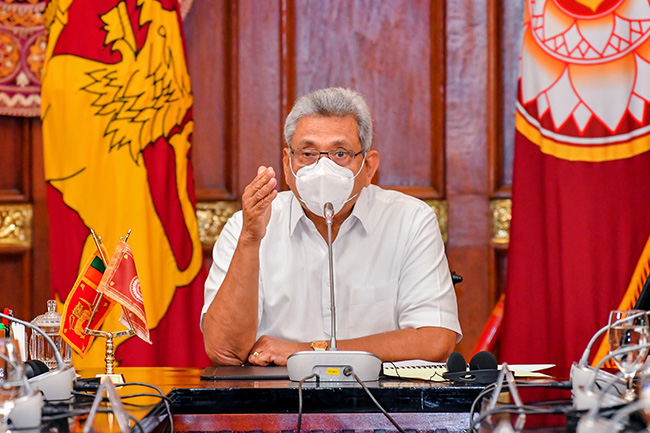 Sri Lanka to receive first batch of Covid-19 vaccines on Jan. 27 – President