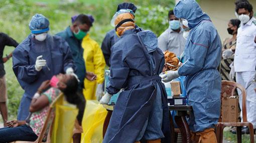Sri Lanka reports 383 new COVID-19 cases