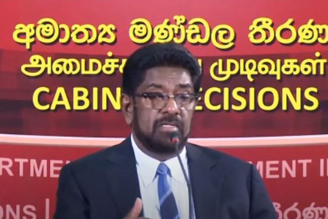Keheliya explains govt's stance on allegations concerning HR violations